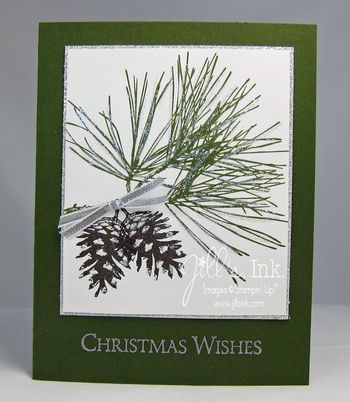 09/14/2014 Jill's, Ink.: Christmas Stamp-a-Stack Ornamental Pine