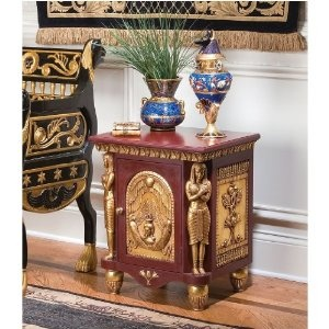 25 palace of ramses egyptian occasional table sale 407 for Egyptian decorations for home