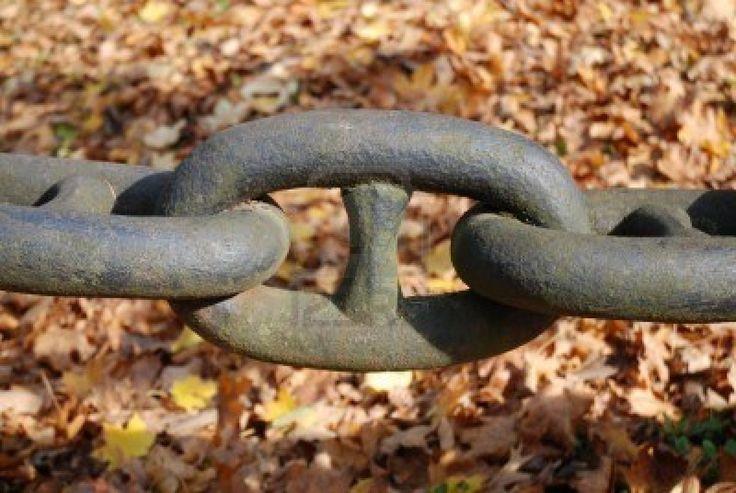 Bodas de Hierro los 6 años de casados - cadena de hierro