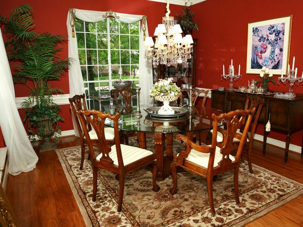 Best 25 Red Dining Rooms Ideas On Pinterest  Red Accent Walls Best Red Dining Rooms Inspiration