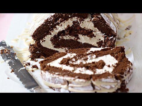 Chocolate and Irish Cream Roulade recipe here www.bbc.co.uk/food/recipes/chocolate_roulade_79152