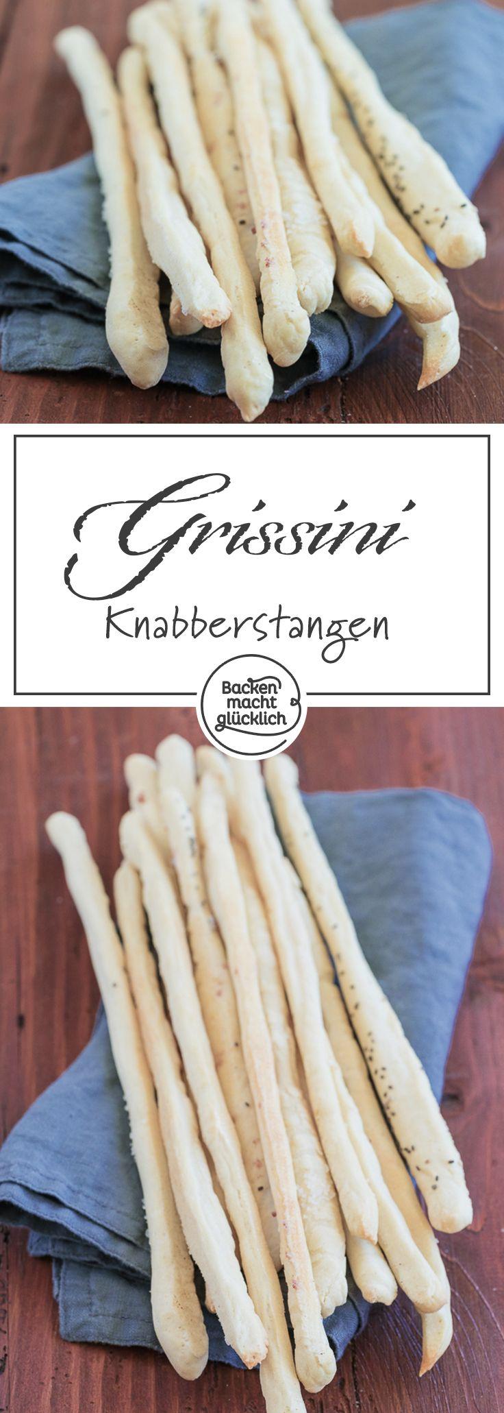 Grissini sind der italienische Knabber-Klassiker schlechthin: Diese knusprigen Grissini sind perfekt für Buffets, Vorspeisen oder einfach zum Snacken.