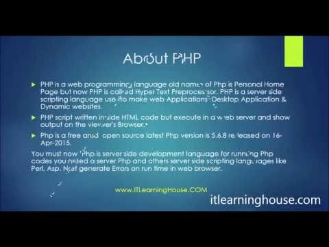 Php programming language tutorial | php video academy.