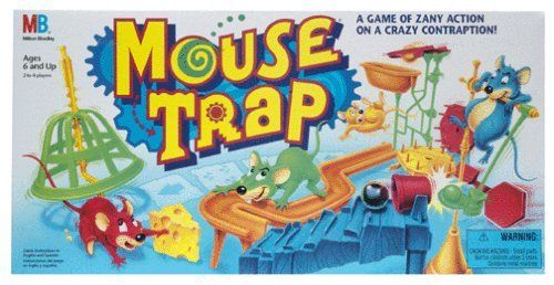 The Best Classic Board Games – Mouse Trap