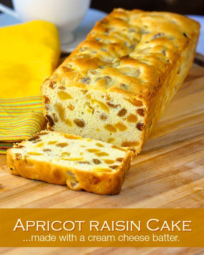 Apricot Raisin Cake. One of the most popular seasonal cake recipes here in Newfoundland during the Holidays, but it is easy enough to be enjoyed any time of year.