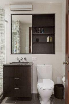 Central Park West Renovation - Contemporary - Bathroom - New York - Lauren Rubin Architecture
