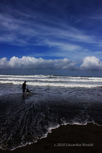 parangtritis beach-Jogjakarta Indonesia