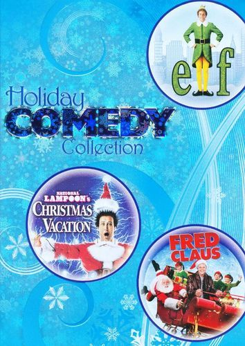 Holiday Comedy Collection: Elf/National Lampoon's Christmas Vacation/Fred Claus [3 Discs] [DVD]