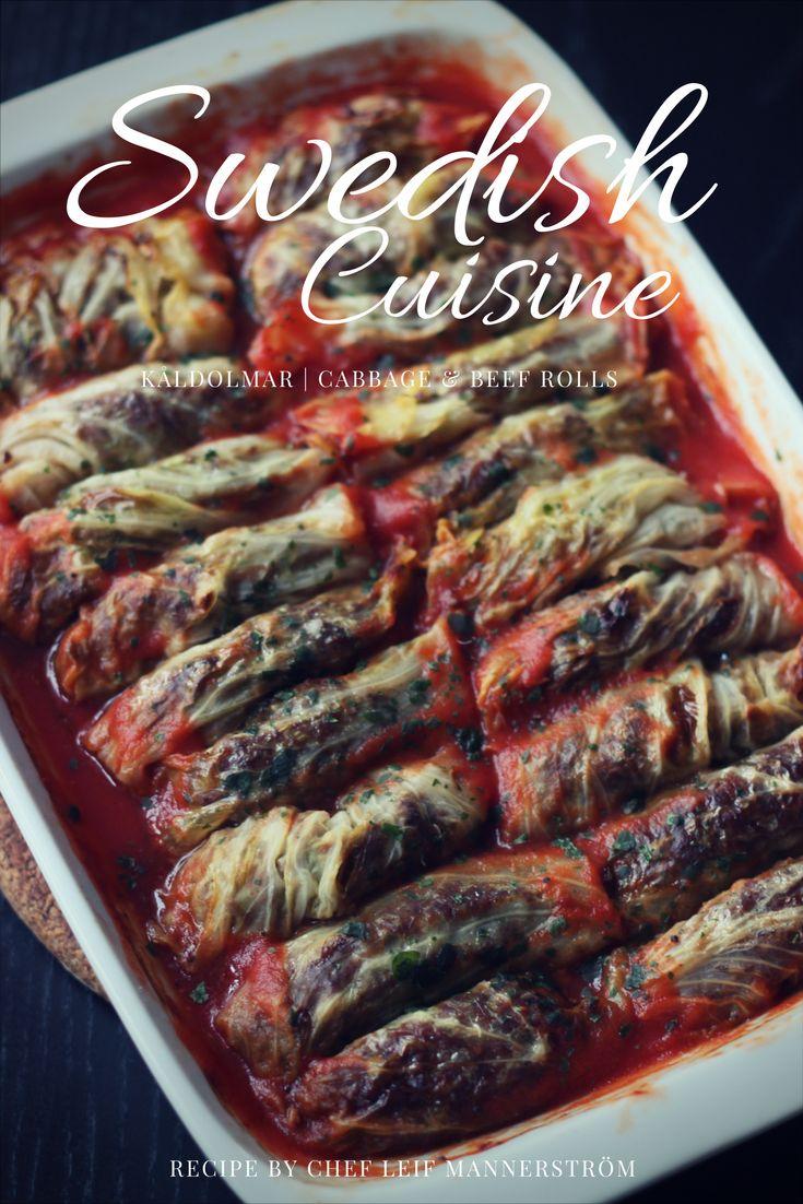 Swedish Cuisine: Cabbage Rolls