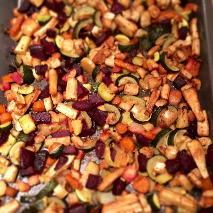 Roasted #vegetables #healthy #nutrition #glutenfree