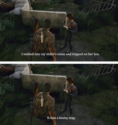 Ellie's No Pun Intended Book - The Last of Us
