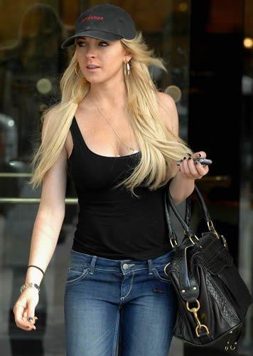 Lindsay Lohan Style: Rebecca Minkoff Morning After Bag