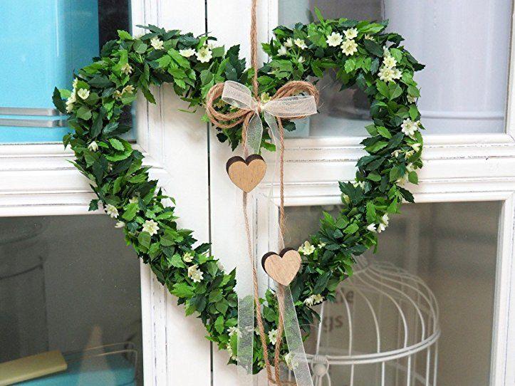 Herz Anna Kranz Vintage Turschmuck Hochzeit Fruhling Deko Fensterschmuck Dekoherz Fruhlings Deko Fruhling Fruhlings Dekoration Dekoration Fruhlingsdekoration