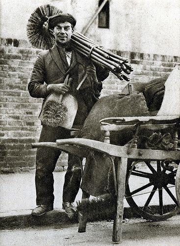 De Scoorsteenveger jaren '20.