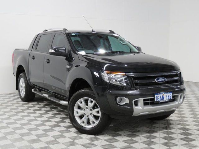 Used Ford Ranger Wildtrak 3.2 (4x4), Jandakot, 2014 Ford Ranger Wildtrak 3.2 (4x4) Crewcab
