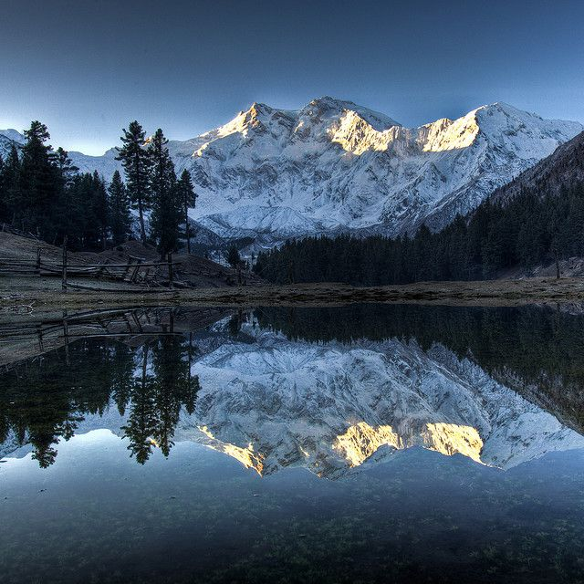 Dawn bliss - Nanga Parbat, Pakistan