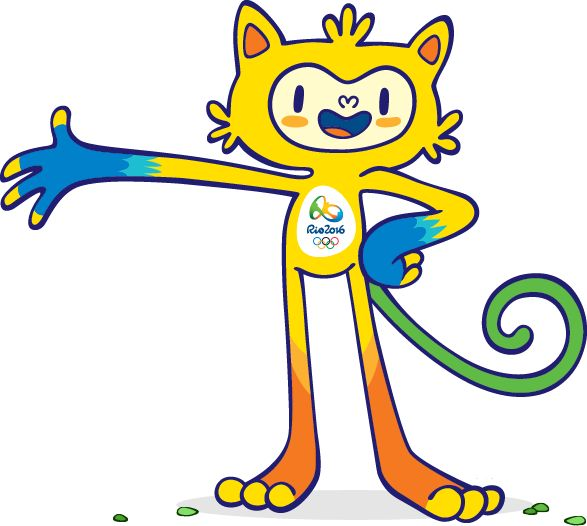 These will be the mascot of Rio de Janeiro 2016. Description from…
