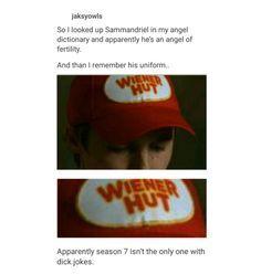 supernatural tumblr textpost post funny lol relatable meme hilarious memes samandriel