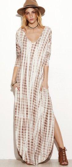 Boho Style Easy afternoon dress...weekend wear
