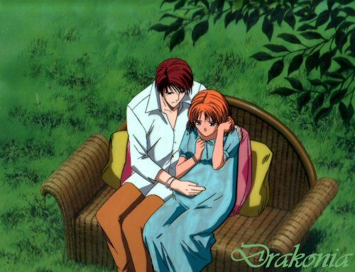 Ayashi no Ceres....I love this anime so much!!! Aya and Toya ahhhh I have been crying over this....he's gonna die soon ;(