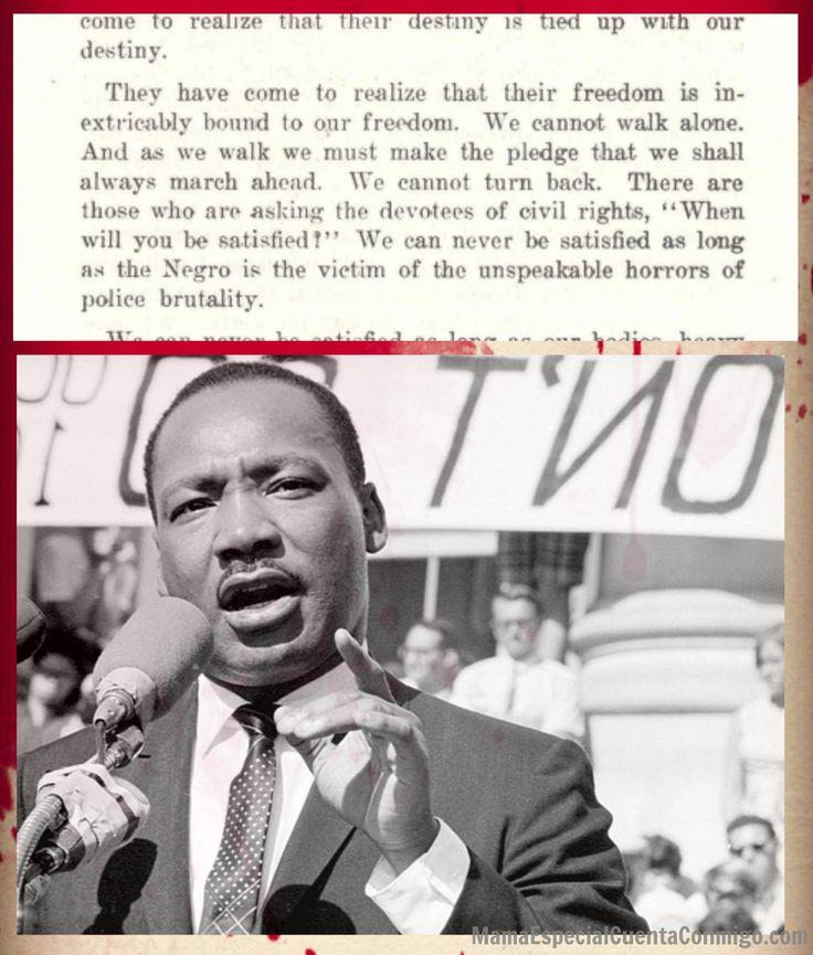 Día de Martin Luther King Jr e Inclusión Derechos civiles Human rights