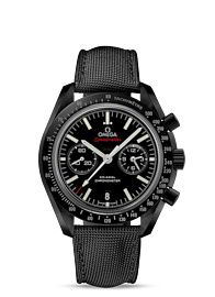 Speedmaster Moonwatch Omega Co-Axial Chronograph 44.25 mm - Black ceramic on coated nylon fabric - 311.92.44.51.01.003