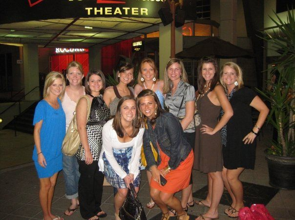 A bridal group who held there bachelorette party at for Bachelorette party places to go