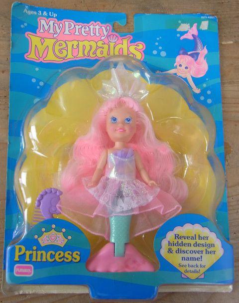My Pretty Pink Gel Nails: My Pretty Mermaids 90's Toy