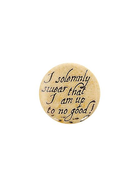 Harry Potter Solemnly Swear Pin   Hot Topic