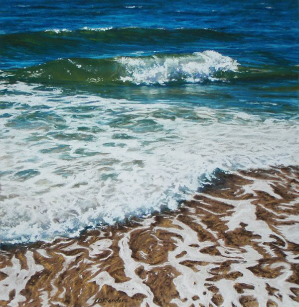 How To Paint Water In Pastel