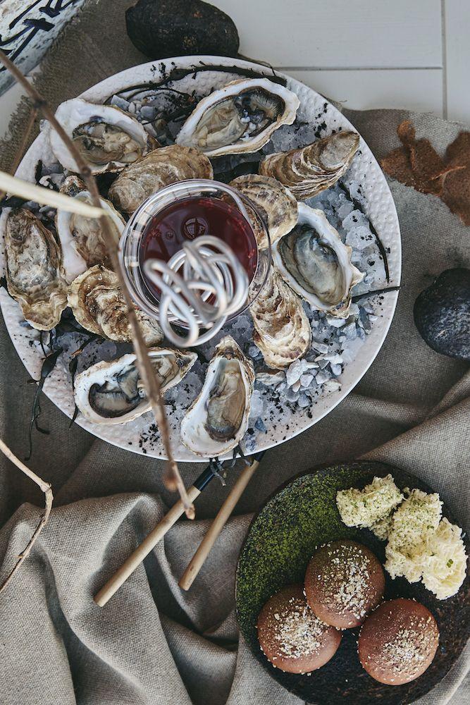 Наша оригинальная подача устриц #oysters #seafood #food #гастрономика #ginzaproject #fun