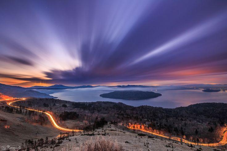 屈斜路湖の夜明け от Hiroyuki Morita