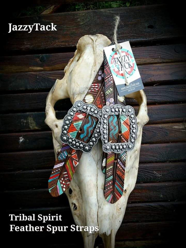 feather spur strap - Jazzy Tack | Western | Pinterest ...