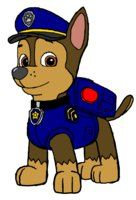 Chase - PAW Patrol by PrinceLionel