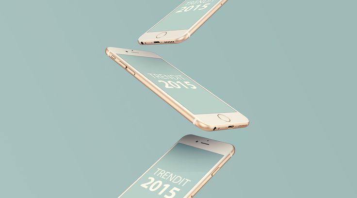 Mitkä ovat verkkosuunnittelun trendit 2015? Material Design, responsiivinen suunnittelu, mediarikas tarinankerronta, sosiaaliset sivustot ja tekoäly...