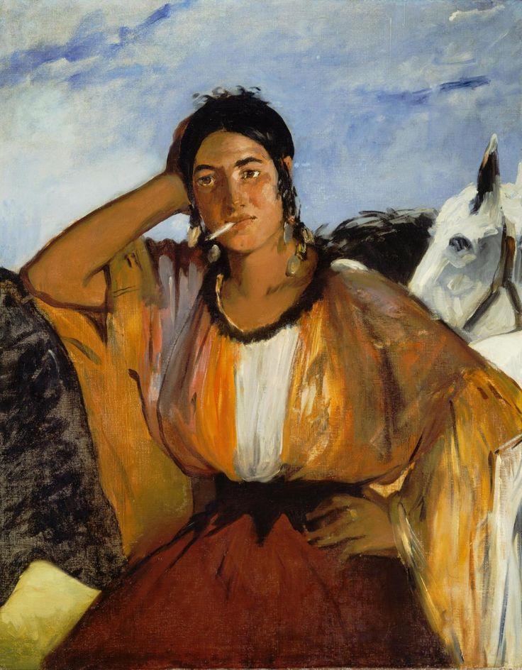 Édouard Manet - La Gitane                                                                                                                                                                                 Plus