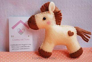 Horsey #felt #horse #Sewing #diy #pattern