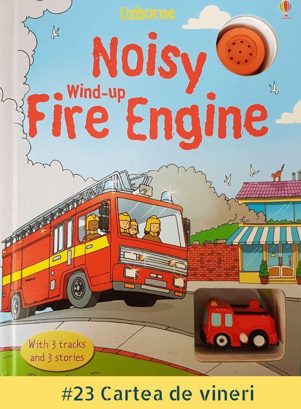 Pentru că varietatea nu strică, ba din contră, am zis ca în săptămâna aceasta să vă prezint o carte altfel. De fapt, e o jucărie. Ba nu, stai, căci în realitate, este o carte-jucărie. Recunosc că o parte din jucării le cumpăr, de fapt, pentru mine și nu pentru A., așa că Noisy Wind-up Fire…