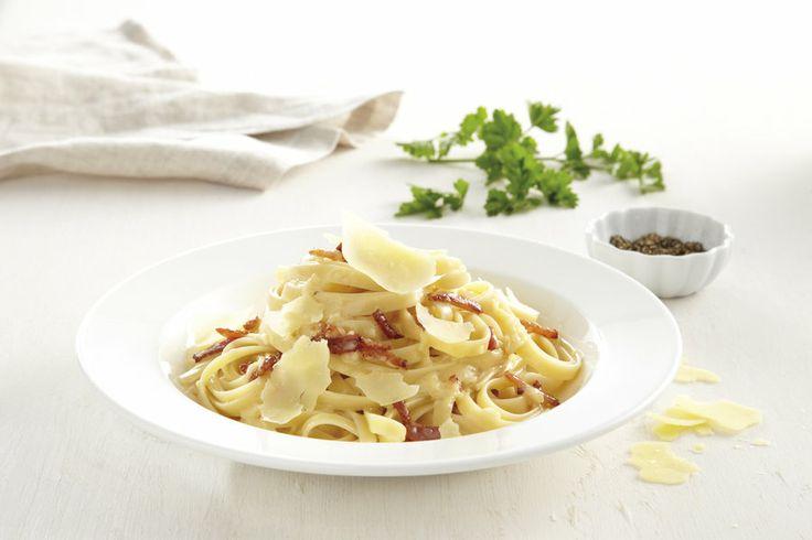 Fettuccine Carbonara  #recipe #PerfectItaliano
