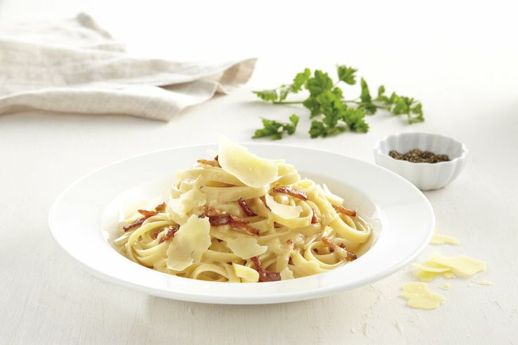 Fettuccine Carbonara  #recipe #PerfectItaliano