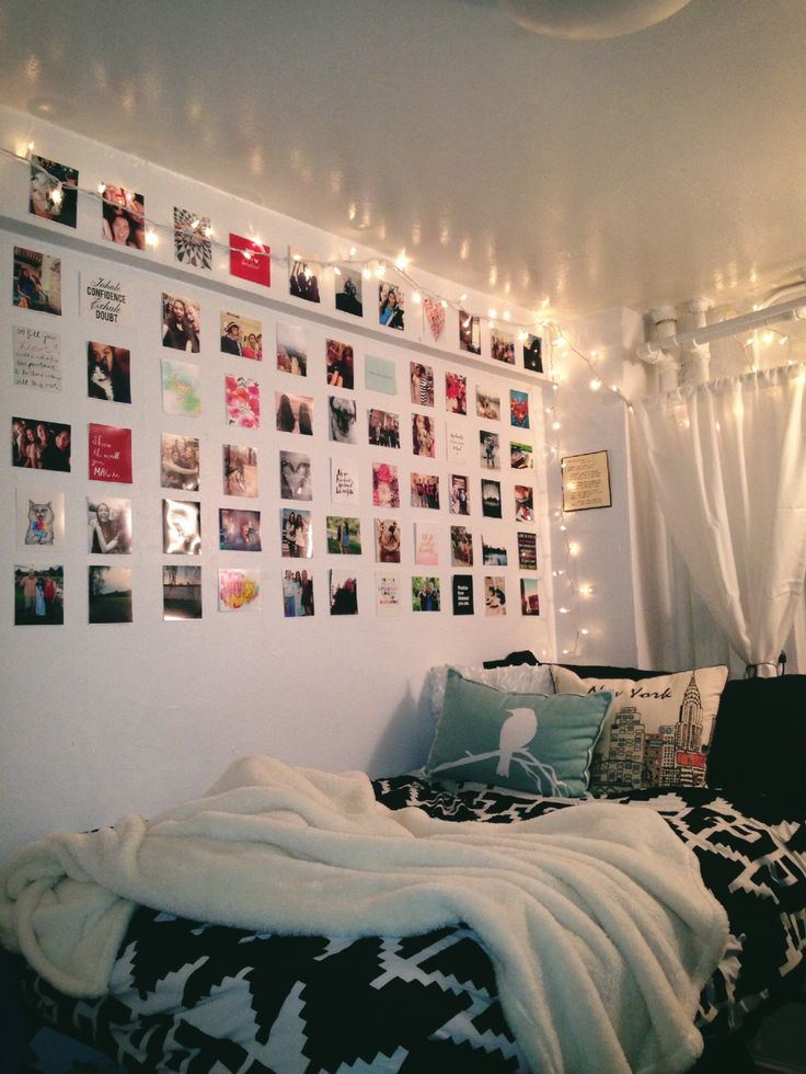 Love the pictures in rows    Dorm Rooms More