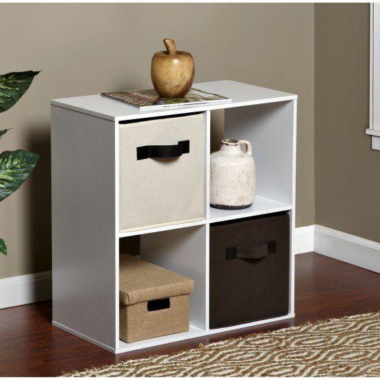 OneSpace 4 Cube Organizer Bookcase