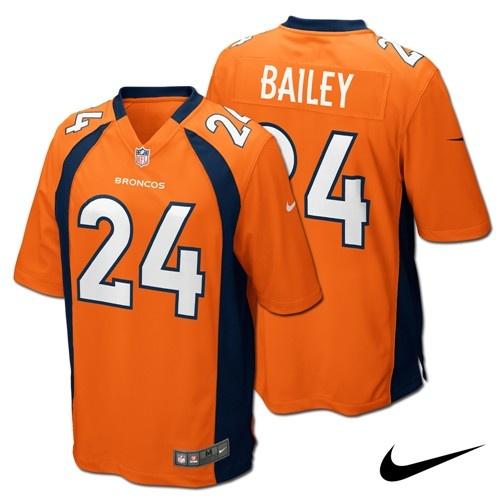 Champ Bailey Denver #Broncos Adult NFL Nike Game Jersey. Click to order! - $99.99