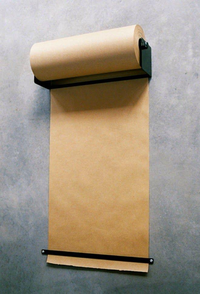 A Little Bit OCD: Ikea Hack // Kraft Paper Dispenser for under $15