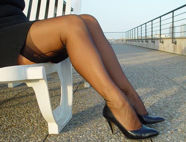 Sneaky pantyhose video-4141
