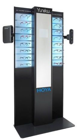 Materialise, HOYA Vision Care Company and Hoet Design Studio launch the world's first vision-centric 3D-tailored eyewear. Yuniku by HOYA enables individualized lens and frame design, with a sophisticated end-to-end digital supply chain that is set to transform the eyewear industry.