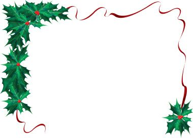 Free Christmas Picture Border Frames | Christmas Borders: January 2009