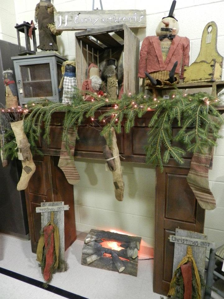 Primitives Christmas Room Christmas Display Country