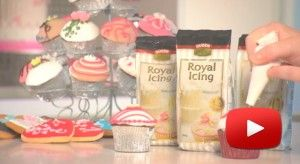 Decorating with Queen Royal Icing.  http://www.queen.com.au/kitchen/#!prettyPhoto