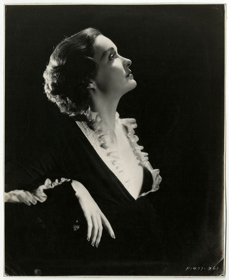 Golden Age of Hollywood Glamour Girl Gail Patrick Lovely Vintage 30s Photograph